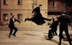 Primi fotogrammi per Matrix Reloaded