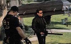Dal set di Terminator 3