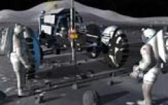 Una base lunare?