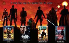 Cosa è successo tra Il ritorno dello Jedi e The Force awakens? Lo scopriremo in 20 romanzi...