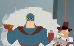Super mal di pancia per il supereroe