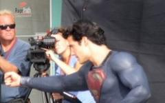 Superman: Man of steel in azione