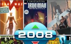 Il meglio e il peggio dei fumetti di fantascienza nel 2008