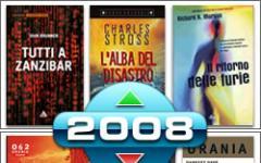 Il meglio e il peggio dei libri di fantascienza del 2008