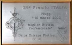 Delos vince il premio Italia