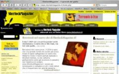 Apre la nuova Sherlock Magazine