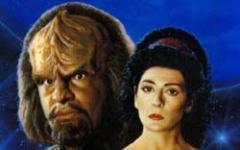 Troi e Worf pronti a partire