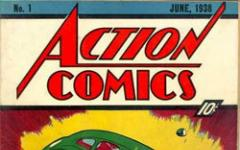 All'asta il primo numero di Action Comics