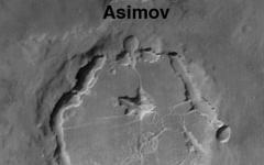 Il cratere di Asimov