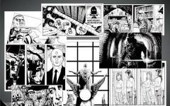 Alcune tavole del prequel di Watchmen