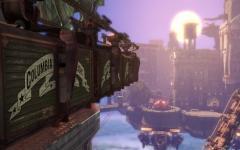 L'azzurro profondo di BioShock Infinite