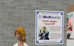 Doppio apputamento al Delos BookClub su Second Life