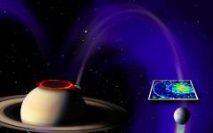 Cortocircuito tra Enceladus e Saturno