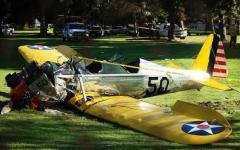 Incidente aereo per Harrison Ford: niente di rotto
