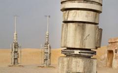 Le straordinarie foto dei set abbandonati di Star Wars