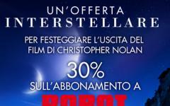 """Un'offerta """"Interstellare"""" per Robot"""