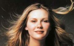 Kirsten Dunst in Melancholia