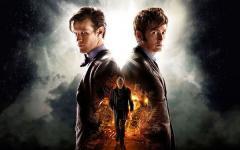 """È arrivato The Day of the Doctor, stasera in """"diretta"""" su Rai4"""