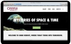 Omni Reboot, torna in versione online la rivista Omni