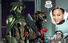 Zoe Saldana si unisce ai Guardians of the Galaxy?
