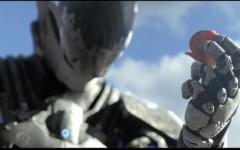 The Archiver, animazione in stile Halo