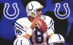 Galactica contro gli Indianapolis Colts