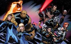 Cross-over Fantastic Four / X-Men in vista?