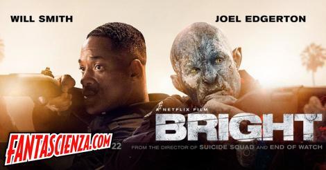 Bright: benvenuti in un mondo di umani e orchi, su Netflix