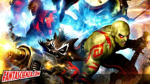 Tutti i Guardiani della Galassia del fumeto