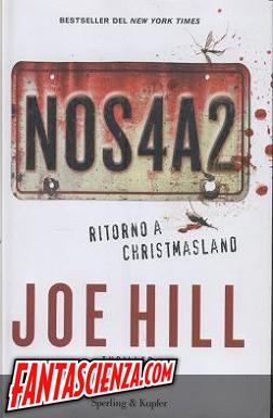 NOS4A2. Ritorno a Christmasland, torna in Italia Joe Hill