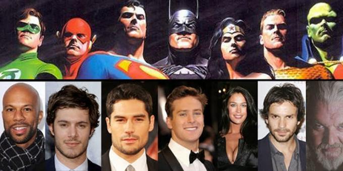 La Justice League che non vedremo mai...