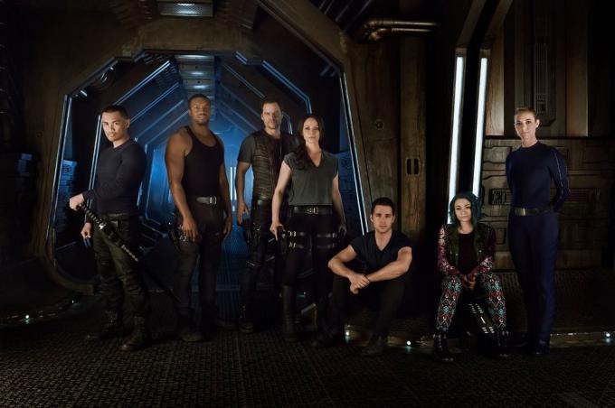 I nostri non così eroi di Dark Matter.