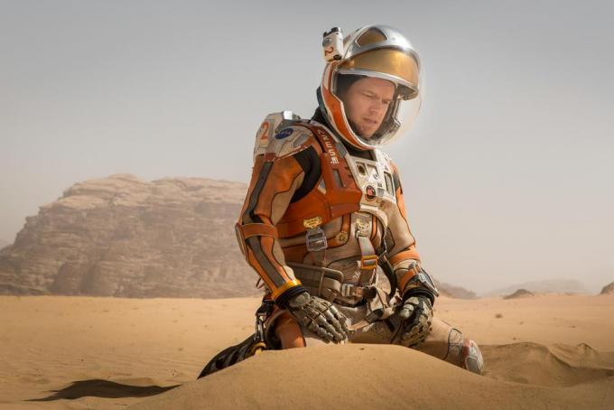 Matt Damon in Sopravvissuto - The Martian