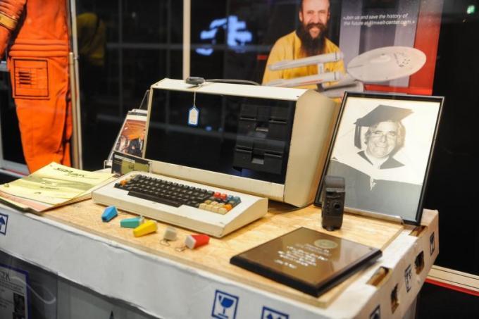 Il computer di Gene Roddenberry (Foto di Daniel Lewis, daTrekmovie.com)