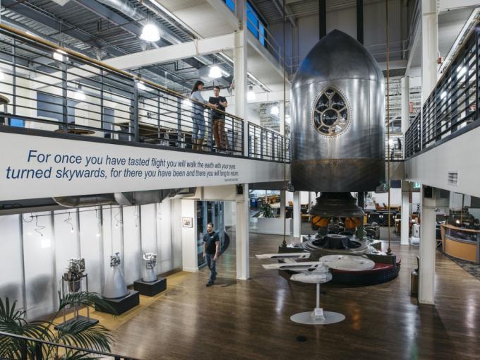 L'ingresso della Blue Origin