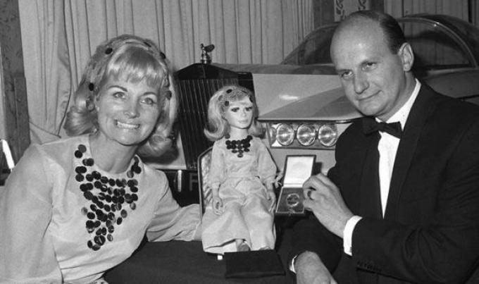 Sylvia e Gerry Anderson