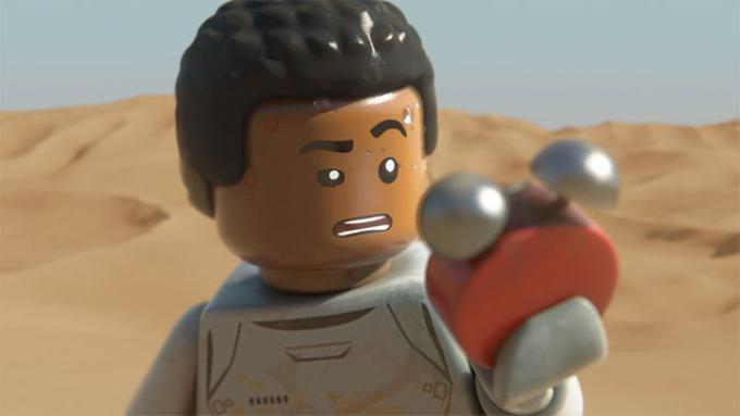 Finn in versione Lego Star Wars