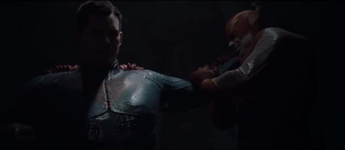 Un fotogramma dal primo trailer di Injustice 2