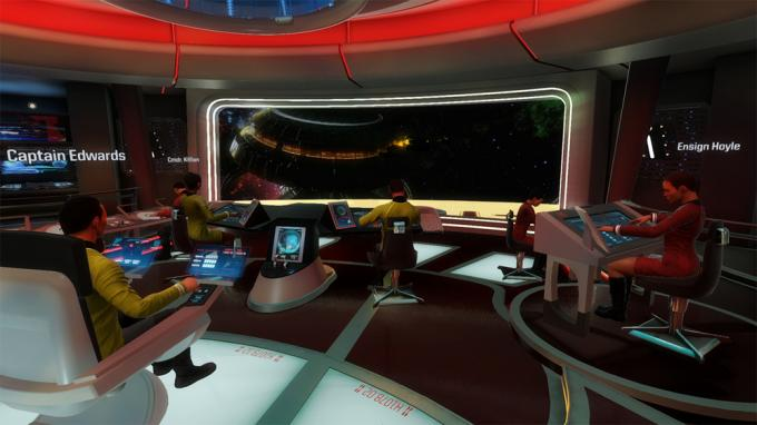 Il ponte virtuale di Star Trek Bridge Crew