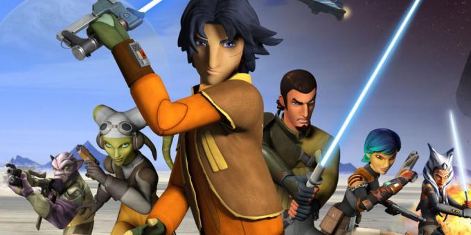 Rebels, il passato e il futuro della Ribellione contro l'Impero e il First Order.