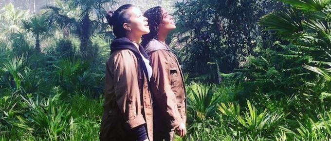 Gina Rodriguez e Tessa Thompson in una immagine del film.