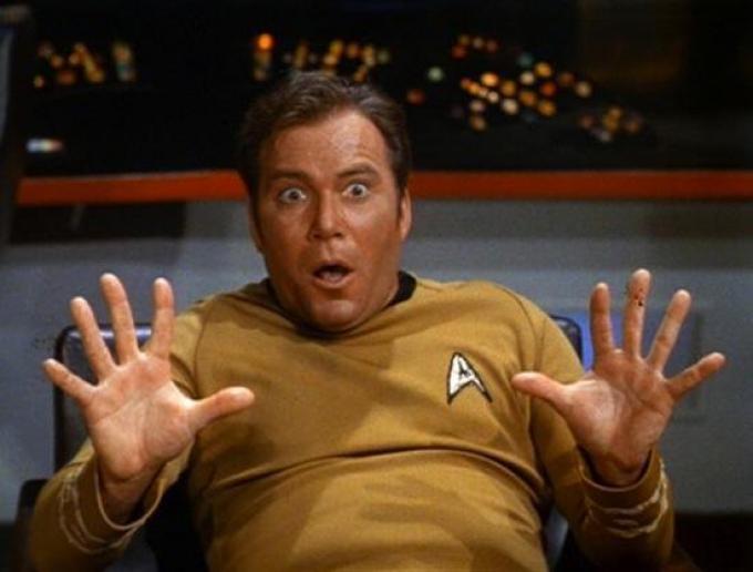 Il capitano Kirk sbarca alla Festa dell'Unità