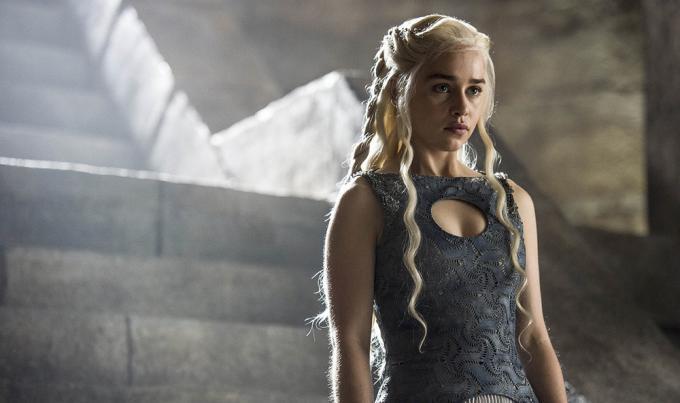 Emilia Clarke in <i>Game of Thrones</i>