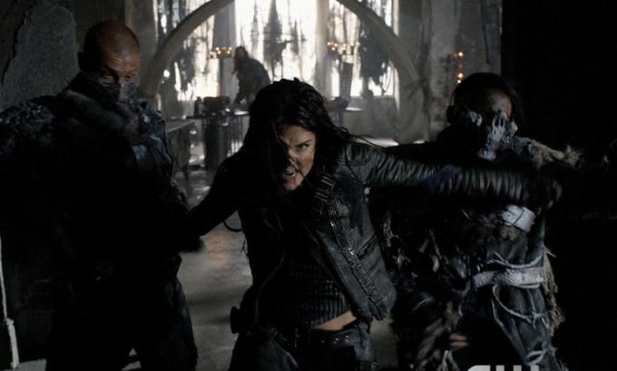 Octavia è diventata la guerriera perfetta.
