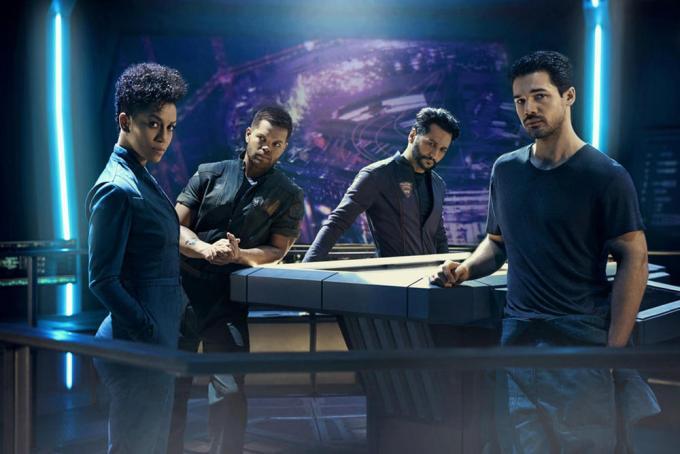 Quattro sopravvissuti contro il più letale complotto ai danni di una intera galassia.