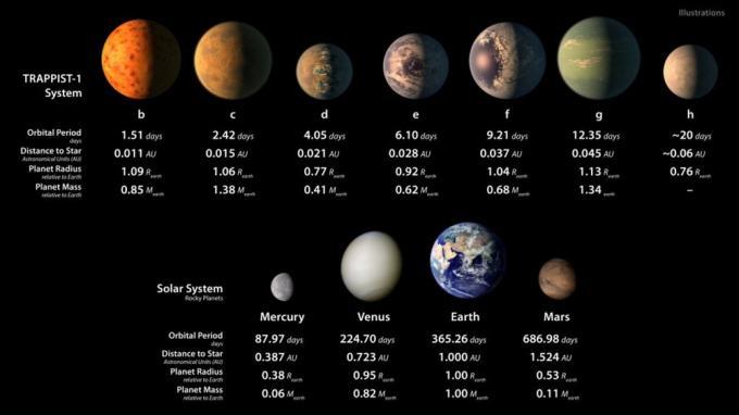 La vita oltre la terra, scoperti 7 esopianeti