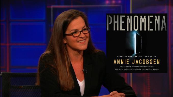 Annie Jacobsen, autrice di Phenomena.