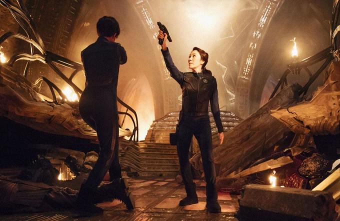 Le cose cambiano nell'universo di Star Trek.