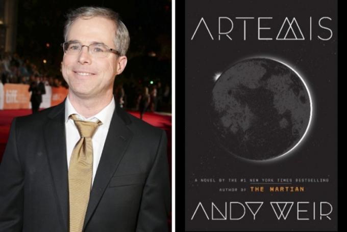 Andy Weir si sposta da Marte alla Luna, ma ci costruisce un'intera città fitta di intrighi.