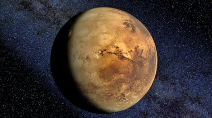 Se lo osserverete con un bel telescopio, magari potrete vedere Opportunity. O Deja Thoris. O il gerarca Barbagli e i suoi arditi.